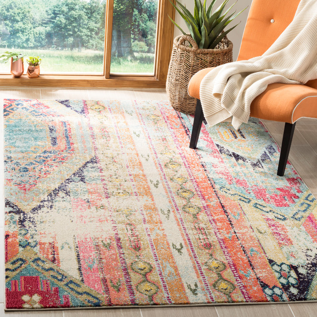 Safavieh Monaco Area Rug, Multicolored, 5&x27;1x7&x27;7.
