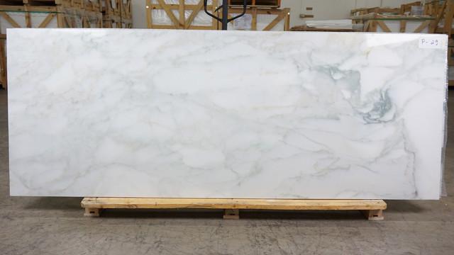 Calacatta Gold Marble Slab Sample
