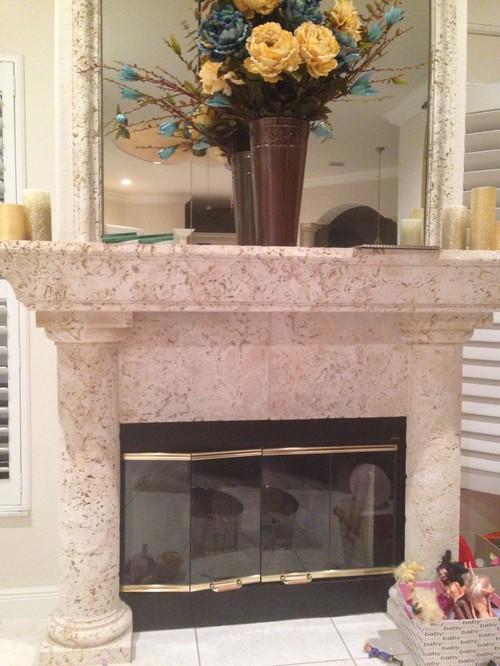Foam mantel & columns