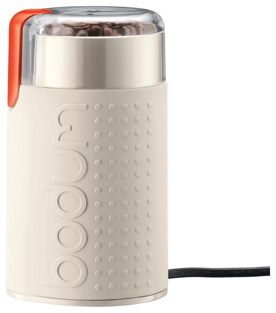 Bodum Bistro Electric Coffee Grinder, White.