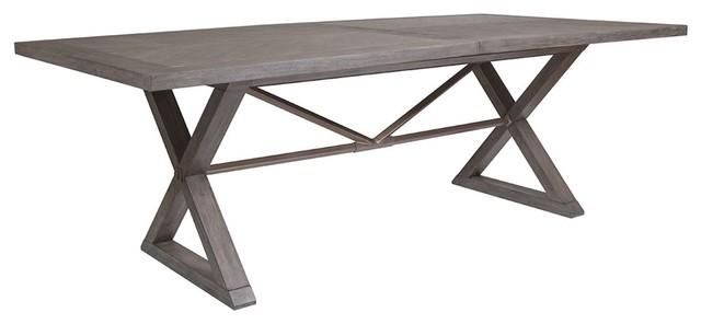 Artistica Home Ringo Rectangular Dining Table, Grigio