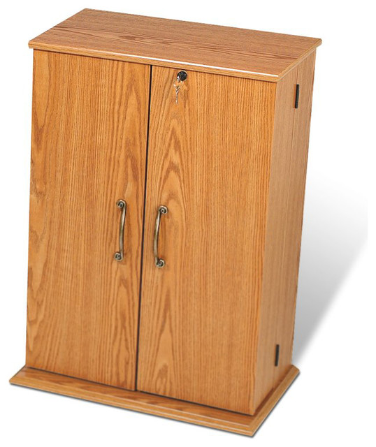 Shop Houzz | Prepac Furniture Prepac Locking CD DVD Media Storage Cabinet - Media Cabinets
