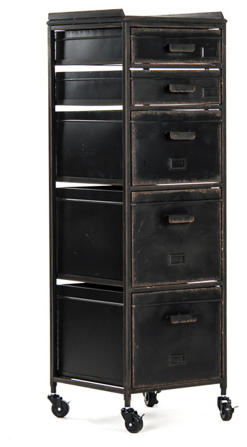 Grady Mobile Drawer Industrial Filing Cabinets