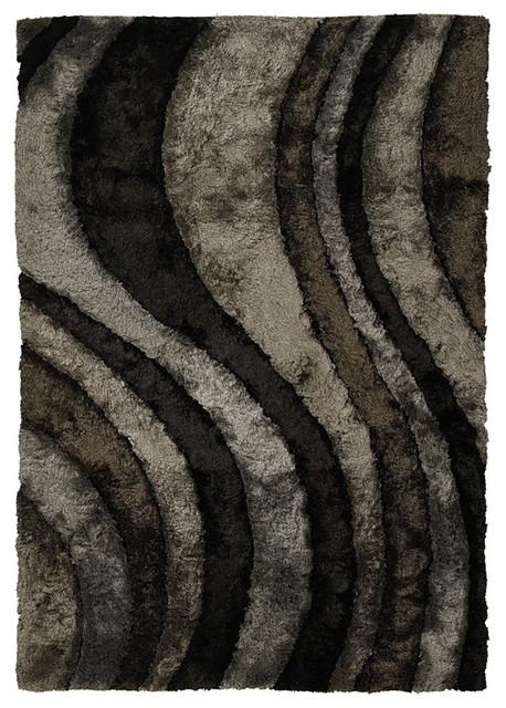 Chandra Flemish Fle 51110 Gray Area Rug Contemporary