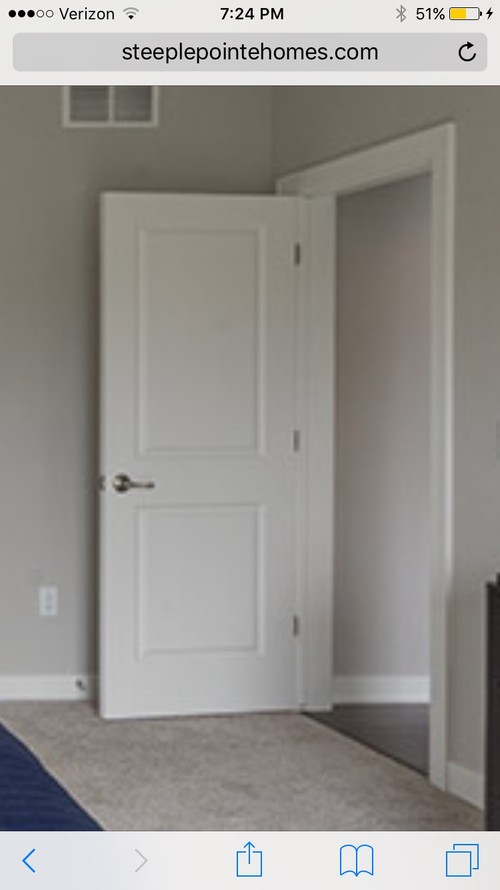 Arched Or Square 2 Panel Interior Doors With My Style?