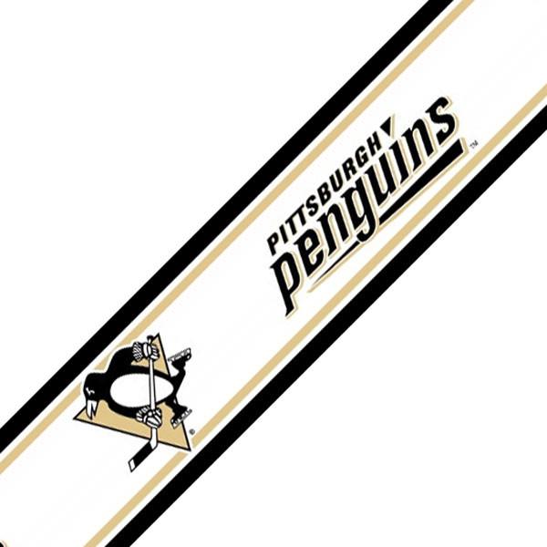 Nhl Pittsburgh Penguins Hockey Prepasted Wall Border Roll Contemporary Wallpaper