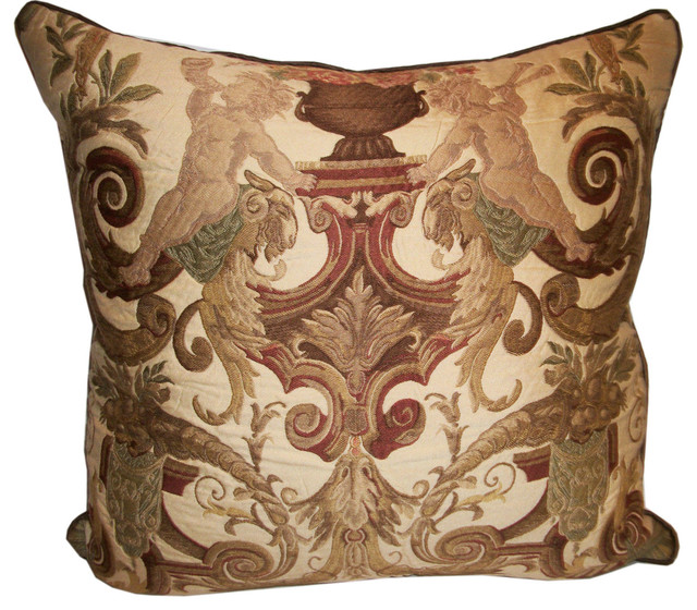 Traditional Accent Pillows : Metrohouse Designs - Celestial Hierarchy