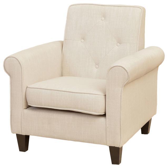 GDF Studio Barzini Fabric Club Chair by GDFStudio