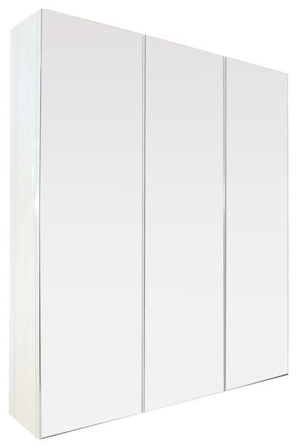 """Modulo Mirror Cabinet, 3-Door, 32""""x32""""."""