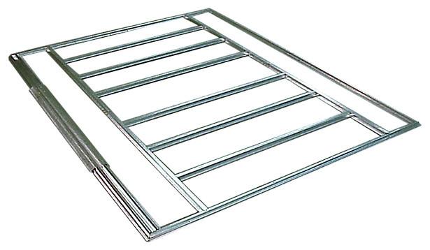 Euro-Lite Pent Floor Frame Kit, 6&x27;x4&x27;, 8&x27;x4&x27;, 10&x27;x4&x27;.
