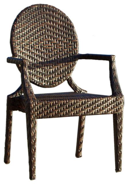 Gdf Studio Townsgate Pe Wicker Outdoor Chair