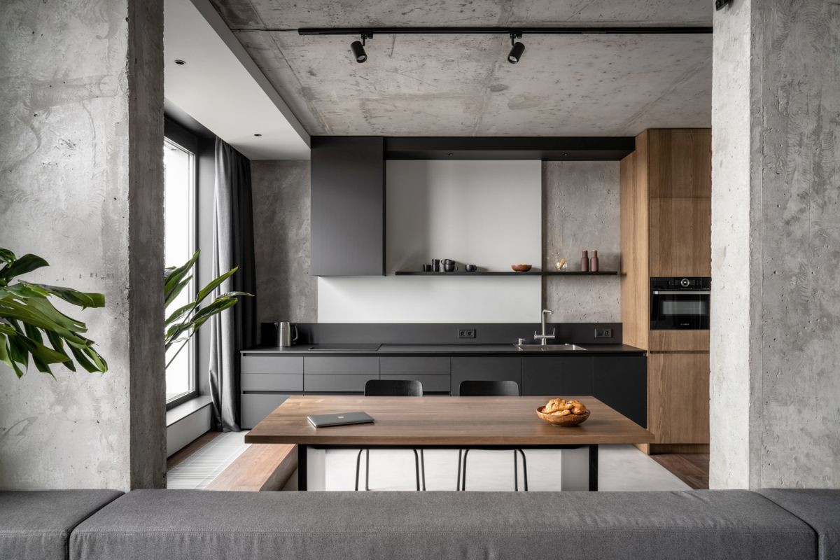 High-end renovation of an 85 square meter apartment in an exclusive neighbourhood.
