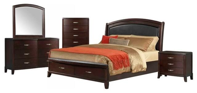 elements elements elaine 5 piece queen bedroom set