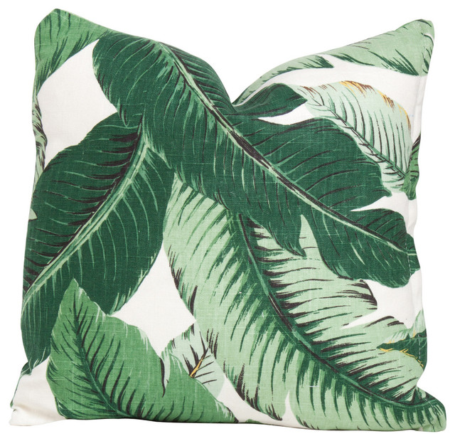 Beverly Palm Pillow.