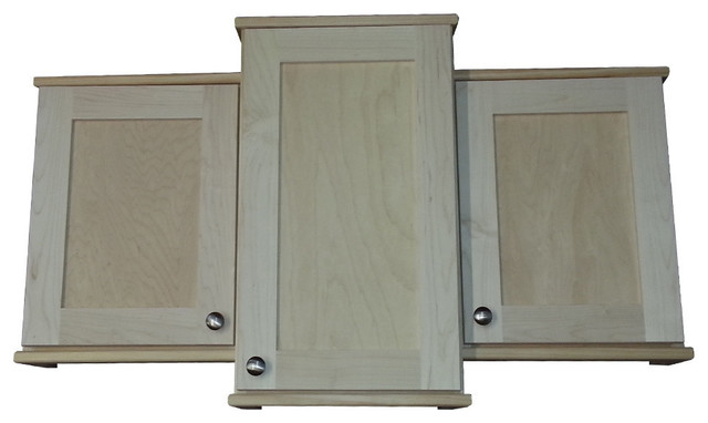 ... , Unfinished - Contemporary - Medicine Cabinets - by WG Wood Products