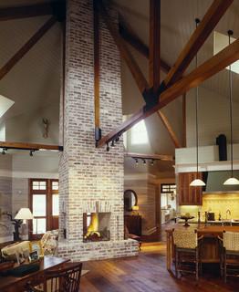 lowcountry river house - Farmhouse - Living Room - Atlanta