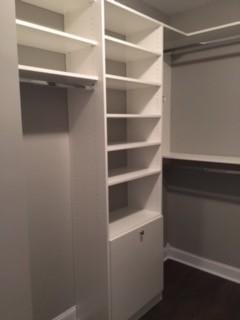 Master walk-in closet - Hendersonville, NC