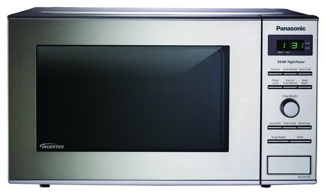 ... Steel Microwave Countertop 0.8 Cu.Ft. 950 Watts modern-microwave-ovens
