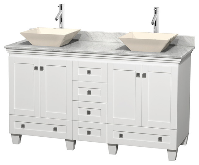 how to install a kitchen sink in a new countertop acclaim white vanity transitional bathroom 9962