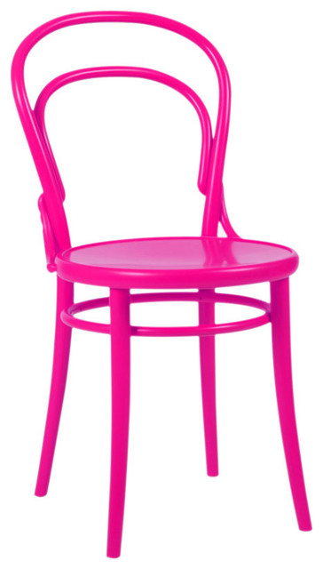 Thonet Chair in Hot Pink