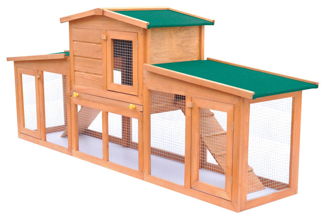 Vidaxl Large Rabbit Hutch Small Animal House Pet Cage With