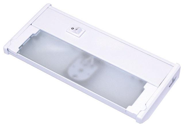 westek led under cabinet light white 8 contemporary. Black Bedroom Furniture Sets. Home Design Ideas