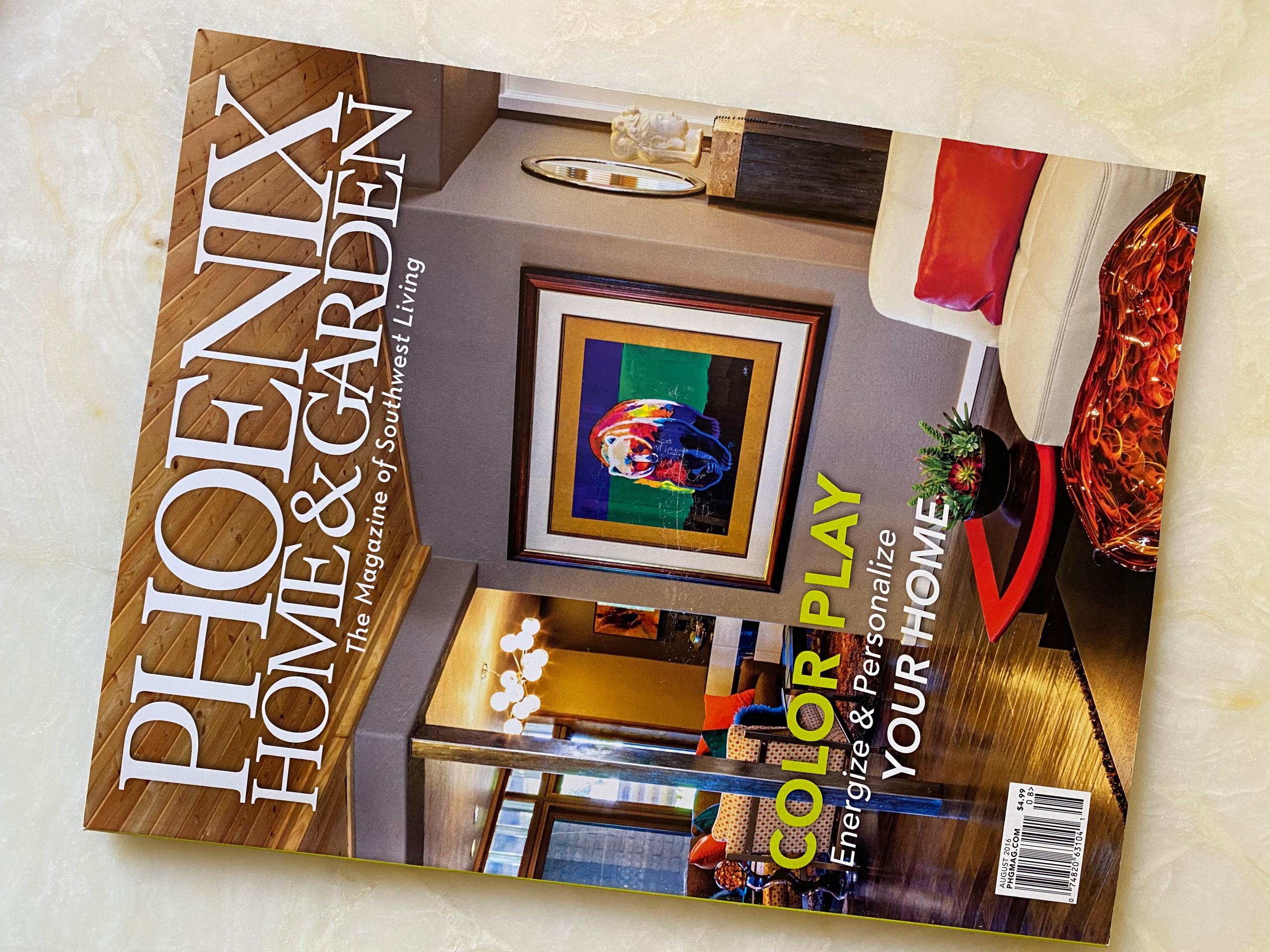 Phoenix Home & Garden Cover