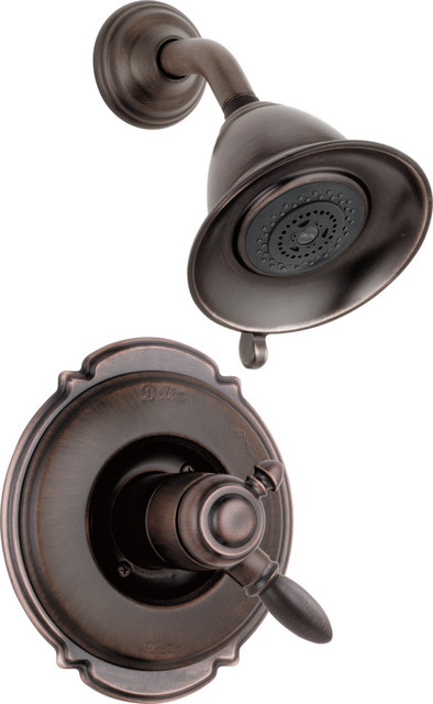 Delta Victorian Monitor 17 Series Shower Trim, Venetian Bronze, T17255-RB