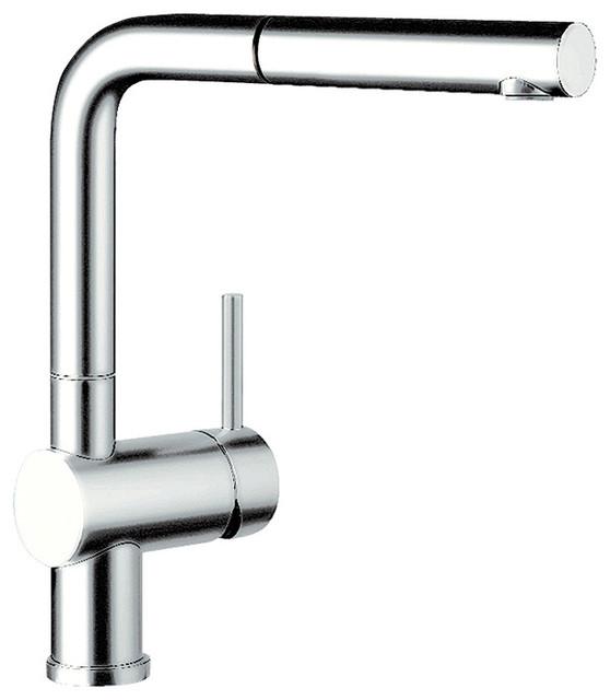 Blanco 441430 Linus 1-Handle Pullout Kitchen Faucet, Chrome