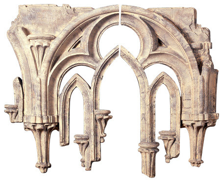 Tracery Wall Scultpure (2 Pieces).