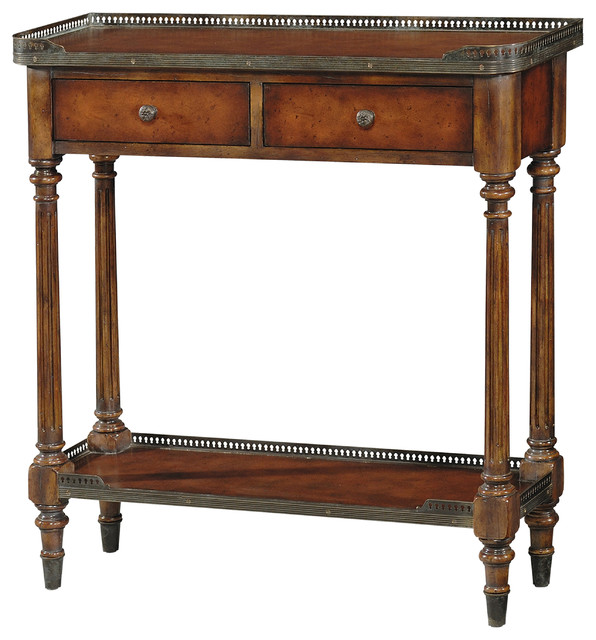 Byrons Console Table Traditional Tables By
