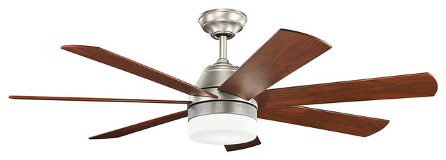 Ellys Indoor Ceiling Fans, Brushed Nickel.