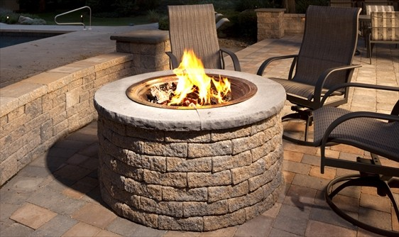Gas Fireplace Kits : Outdoor fire pit kits traditional pits by ep henry