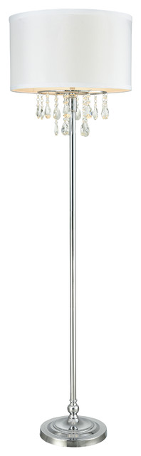 Tira Crystal Floor Lamp.
