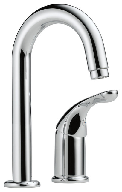 Delta 1.5 Gpm 1-Handle Bar/prep Faucet, Chrome.