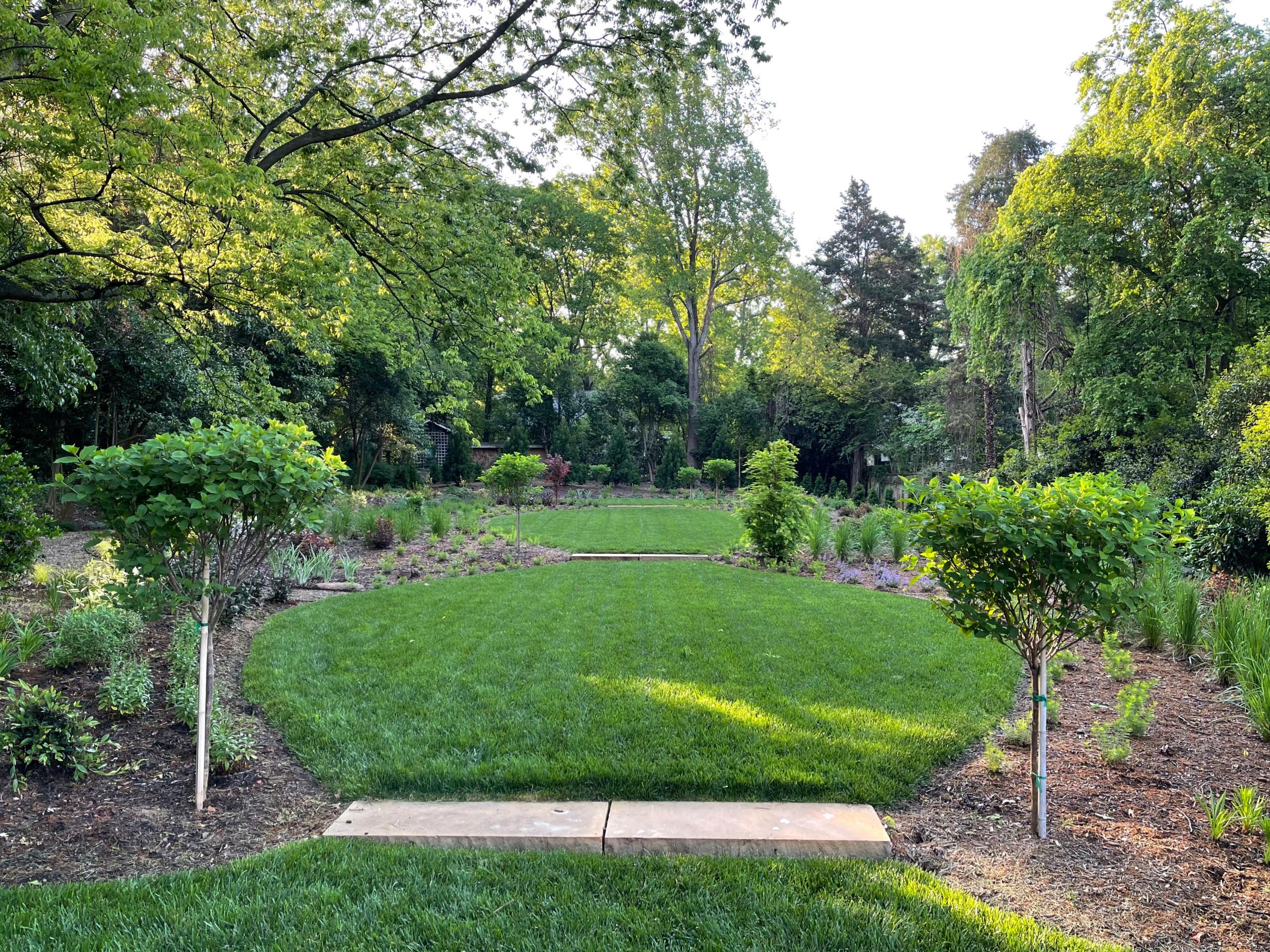 Meditation garden.