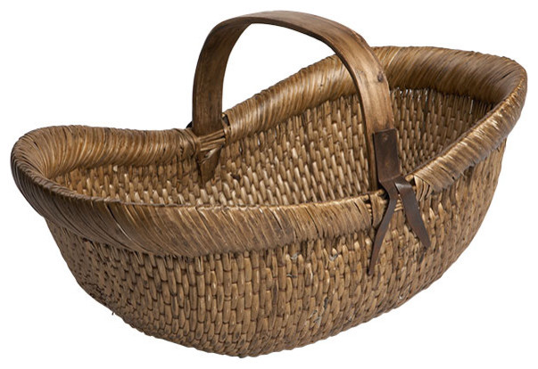 Farmers Basket Traditional Baskets by Wisteria : traditional baskets from www.houzz.com size 603 x 414 jpeg 76kB
