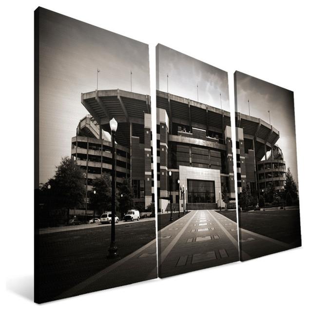 "University Of Alabama Crimson Tide Bryant Denny Stadium Canvas Print, 36""x48""."