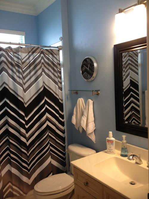 Paint Color: Teenage Boysu0027 Bathroom