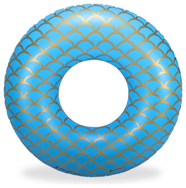 Mermaid Inflatable Premium Quality Giant Round Tube Pool Float.