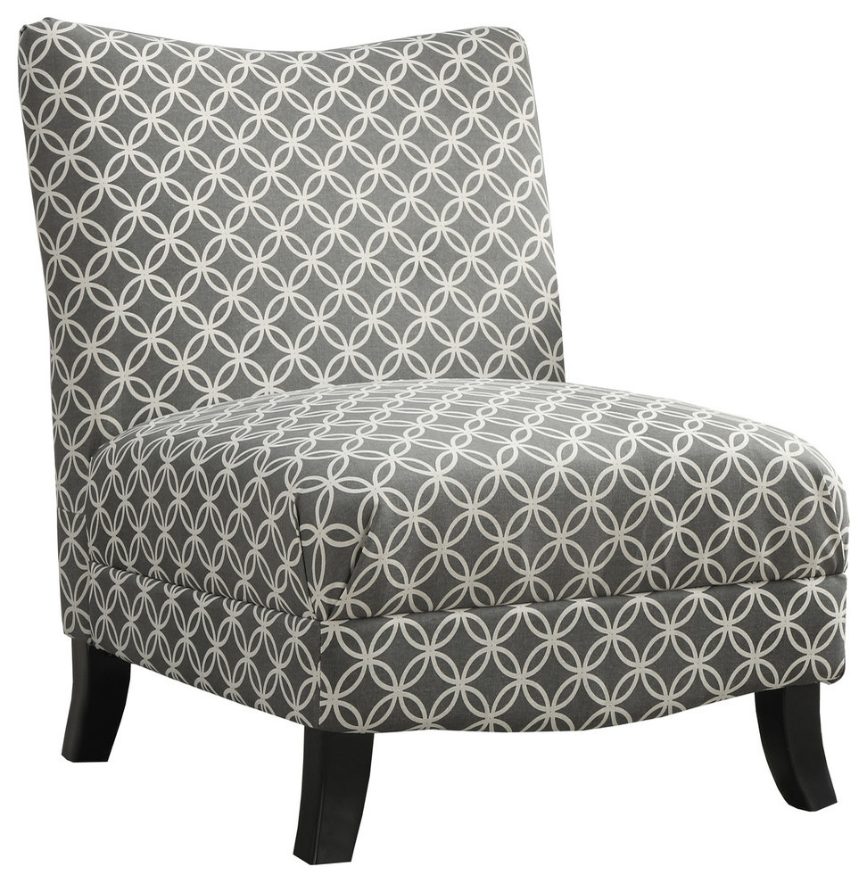 Enjoyable Accent Chair Gray Circular Fabric Gmtry Best Dining Table And Chair Ideas Images Gmtryco