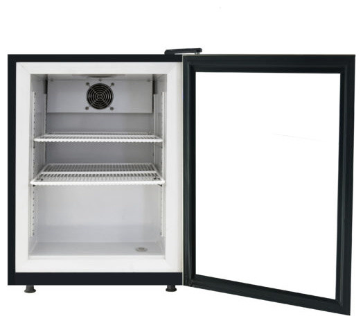 Whynter Countertop Reach In 1.8 Cu.ft. Display Glass Door Freezer.