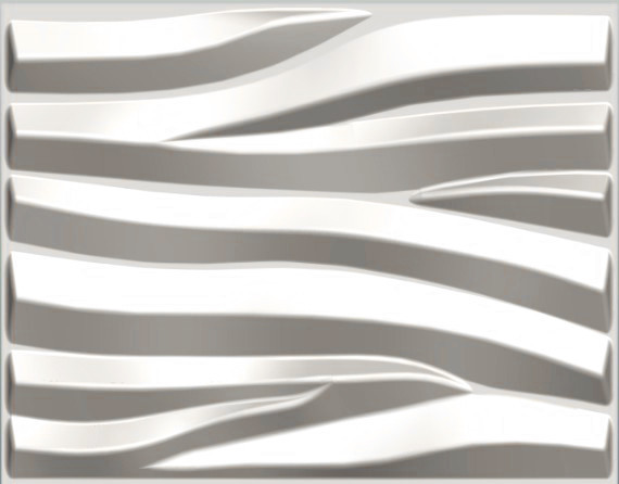 Sand Design 3d Glue On Wall Panel, Box Of 6, 32.18 Sqft.