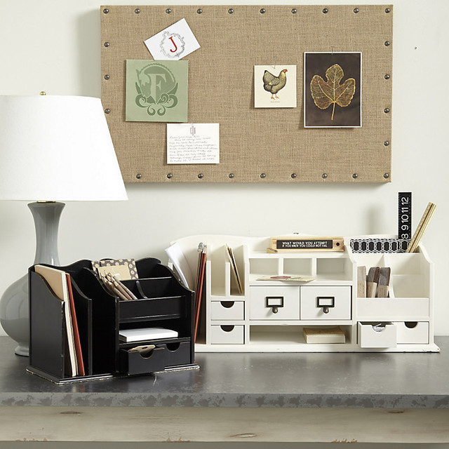 Original Home Office Desk Organizers - Traditional - Desk ...