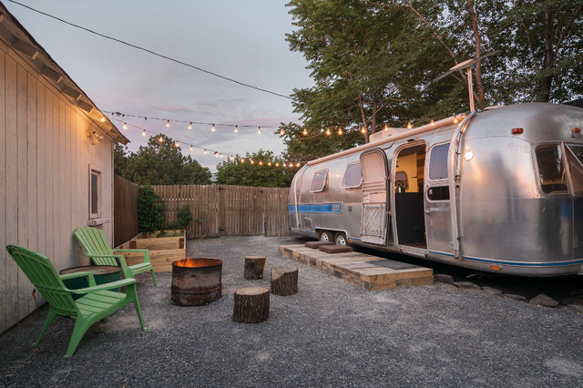 My Houzz: New Life and Style for a 1976 Airstream eclectic-patio