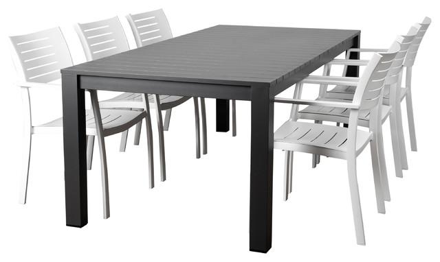 Atlantic Noordam 7-Piece Rectangular Patio Dining Set