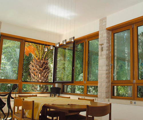 home design - Wood Tilt and Turn Windows