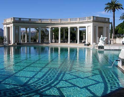 Neptune Pool at Hearst Castle, California
