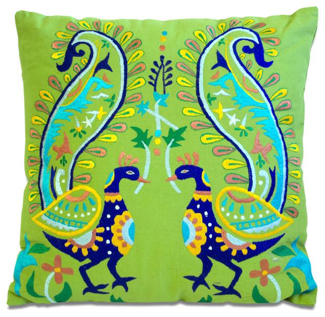 Pea Pillow Green