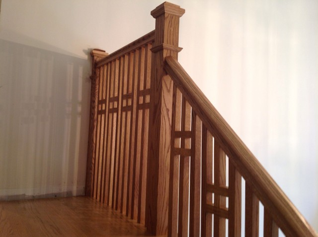 Craftsman Style Stairs Arts And Crafts